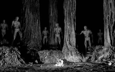 Spooky Alien Ghosts by DevilTraitor