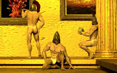 The Adeptus Custodes by DevilTraitor