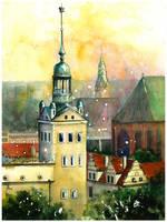 Szczecin: Castle tower by JoaRosa