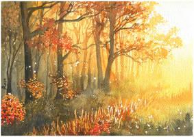 Golden autumn by JoaRosa