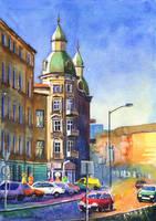 Szczecin - townhouses by JoaRosa