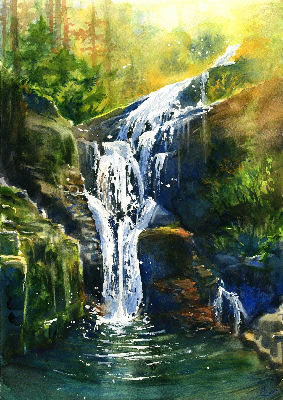 Waterfall Kamienczyka by JoaRosa