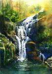 Waterfall Kamienczyka