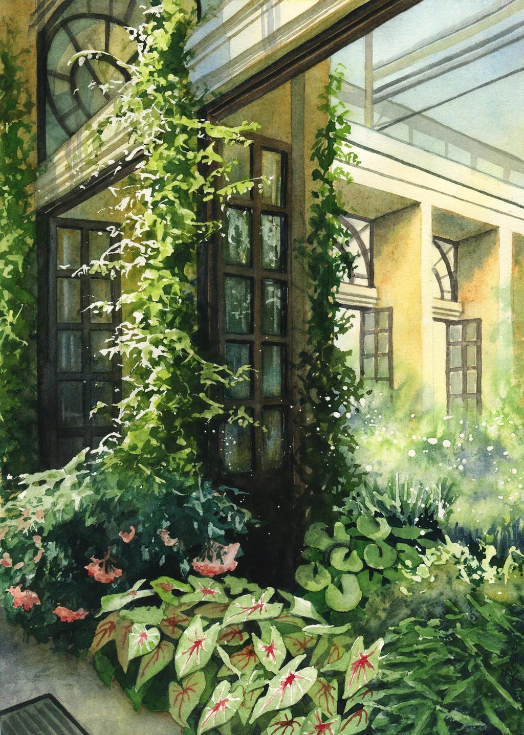 Courtyard by JoaRosa