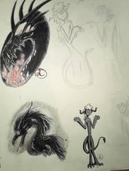 Sketch Page 2 by Dragonwysper