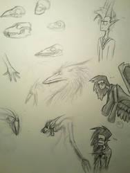 Sketch Page 5 by Dragonwysper