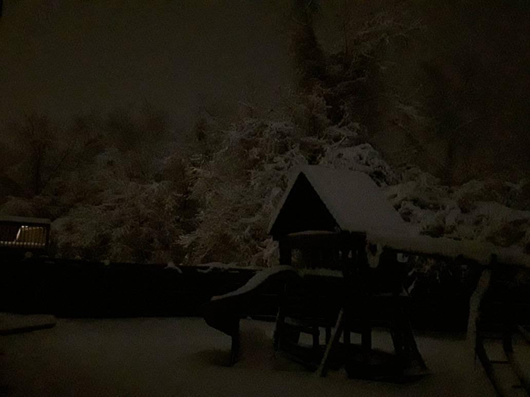 A Surreal Winter Night by Dragonwysper