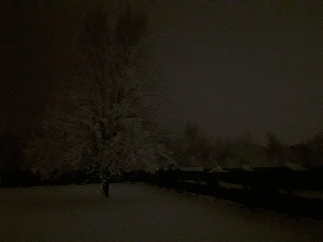 A Surreal Winter Night v2 by Dragonwysper