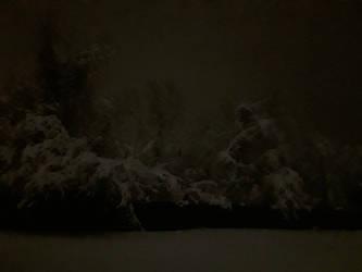 A Surreal Winter Night v3 by Dragonwysper