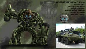 Transformers movie - Brawn