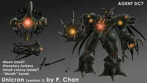 Transformers movie - Unicron 1