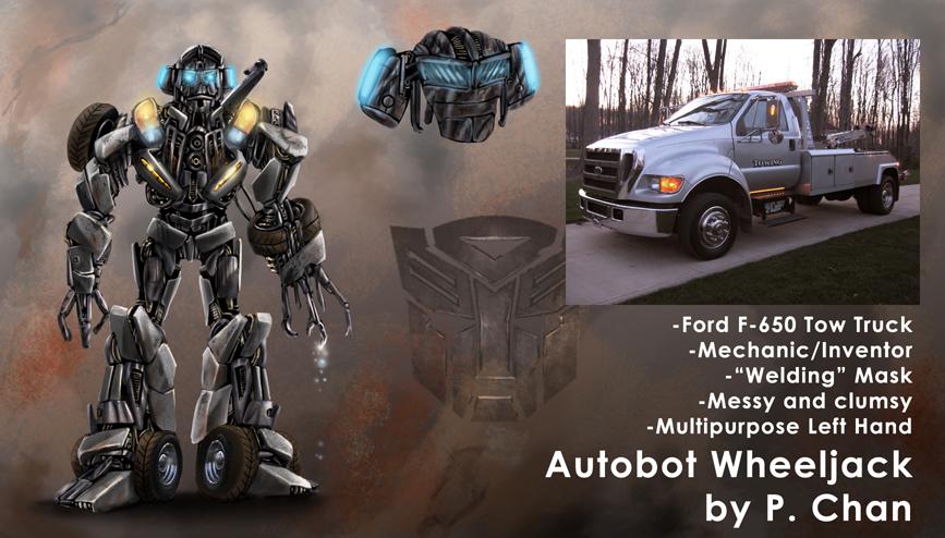 Transformers movie - Wheeljack by agentdc7
