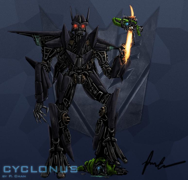 TF Movie -  Cyclonus vs Skids by agentdc7