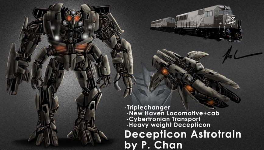 Transformers movie Astrotrain by agentdc7 on DeviantArt