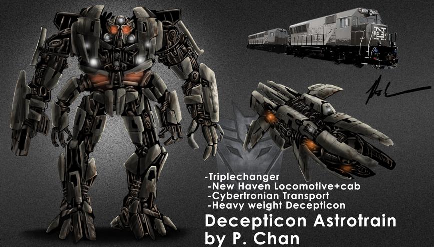 Transformers movie Astrotrain by agentdc7 on DeviantArt