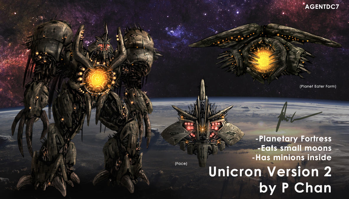 Transformers Movie Unicron 2 by agentdc7