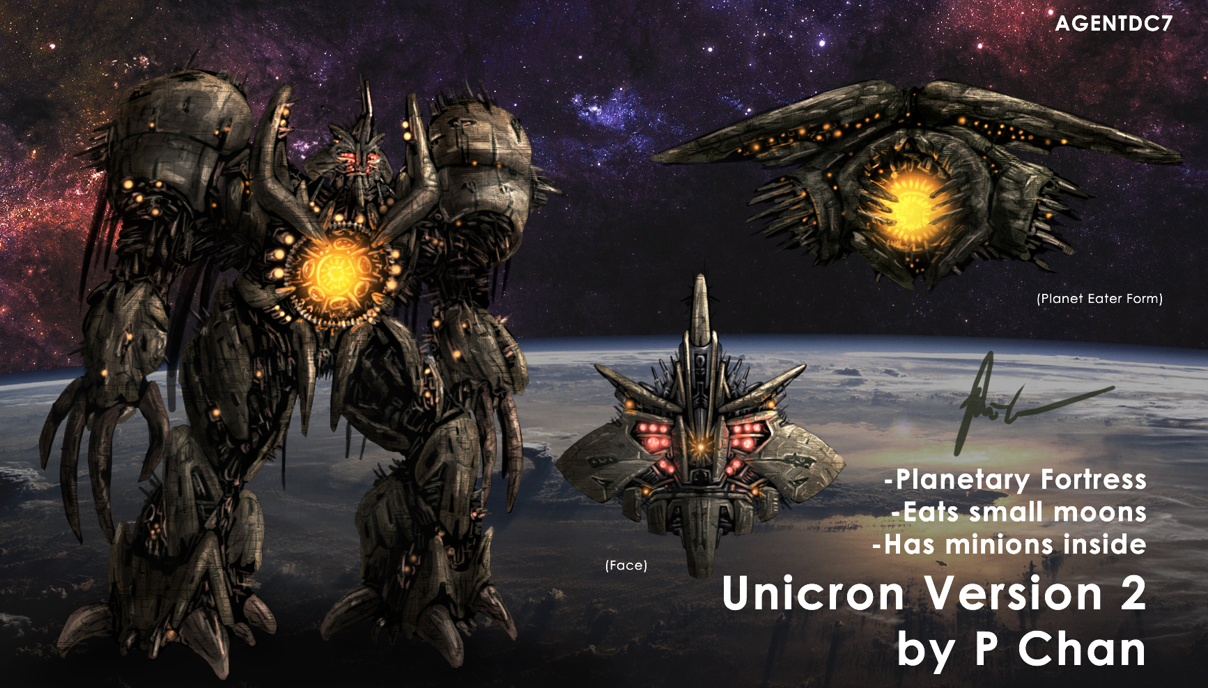 Transformers Movie Unicron 2 by agentdc7 on DeviantArt