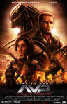 Alien Vs Predator - Movie Poster Capcom Version