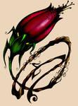 Coloured tattoo