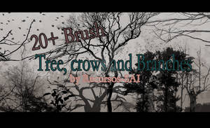 Tree, crows and Branches