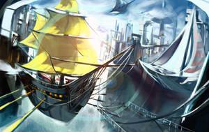 Ships by Benlo