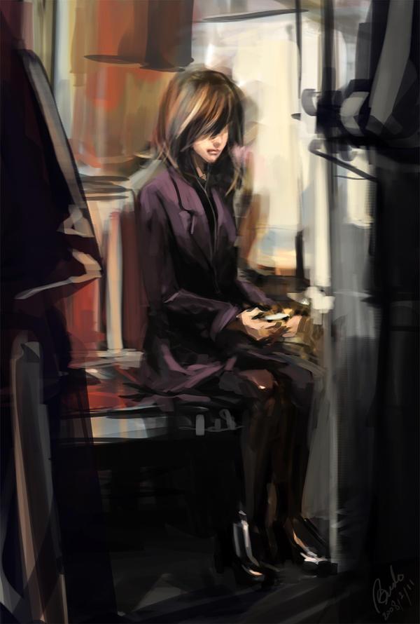 subway girl by Benlo
