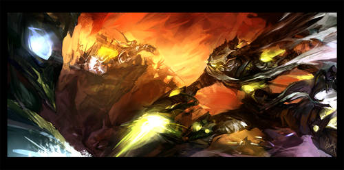 Star Craft vs Warcraft