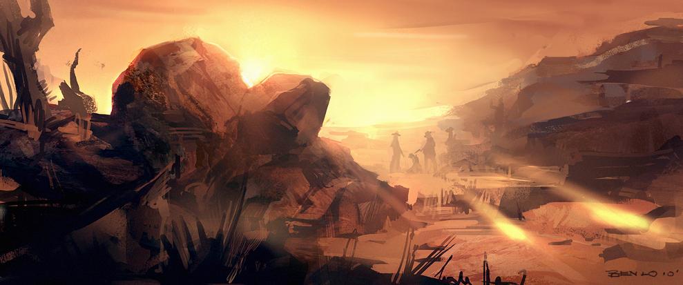 Red Dead Redemption fanart by Benlo