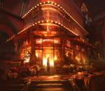 Bioshock Infinite - Market Fire