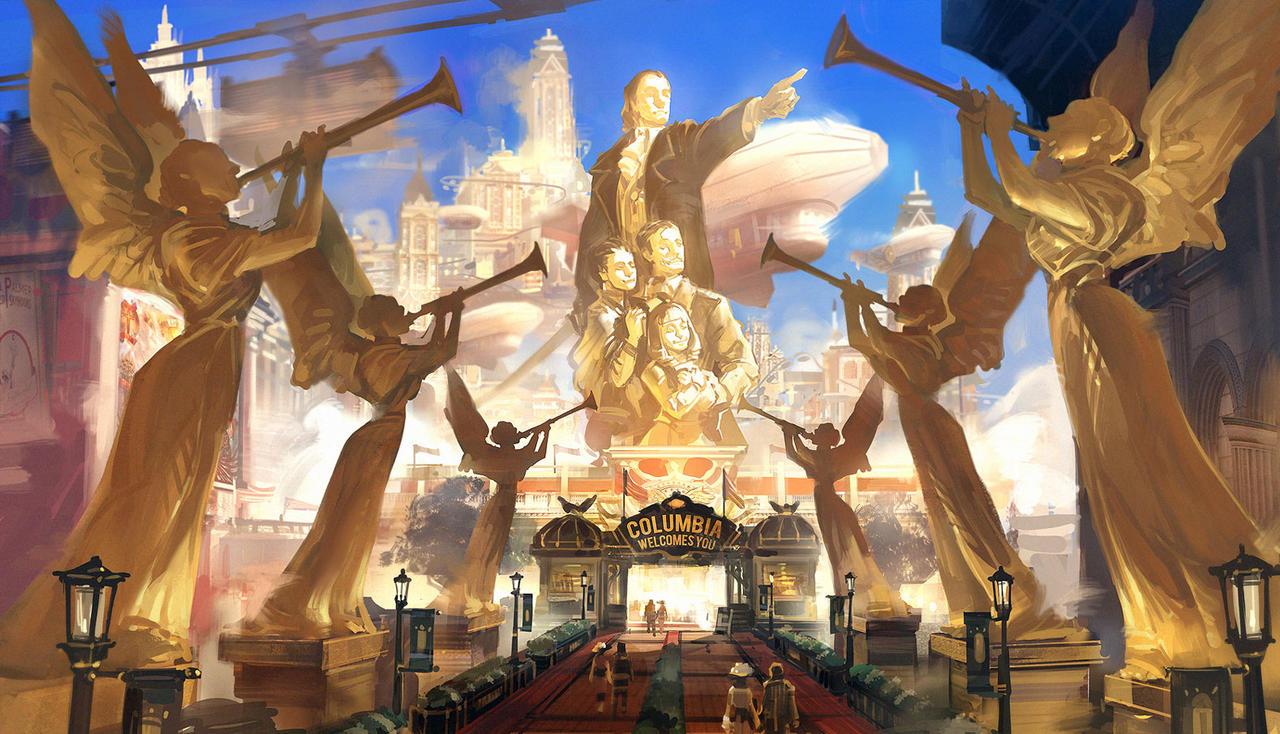 Bioshock Infinite - Columbia entrance