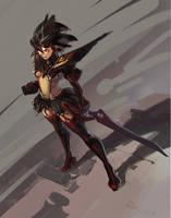 Kill la Kill - Ryuko by Benlo
