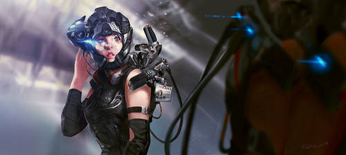 Future War Reporter by Benlo