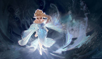 Let it go~ Let it goooo~