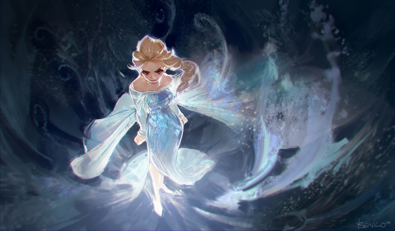Let it go~ Let it goooo~ by Benlo
