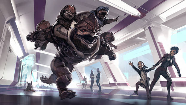 Mass Effect Andromeda - Something to Fight For