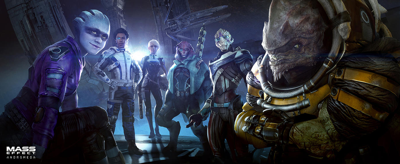 Mass Effect Andromeda - the Crew by Benlo