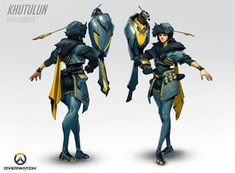 Overwatch - Khutulun, Eagle Hunter by Benlo