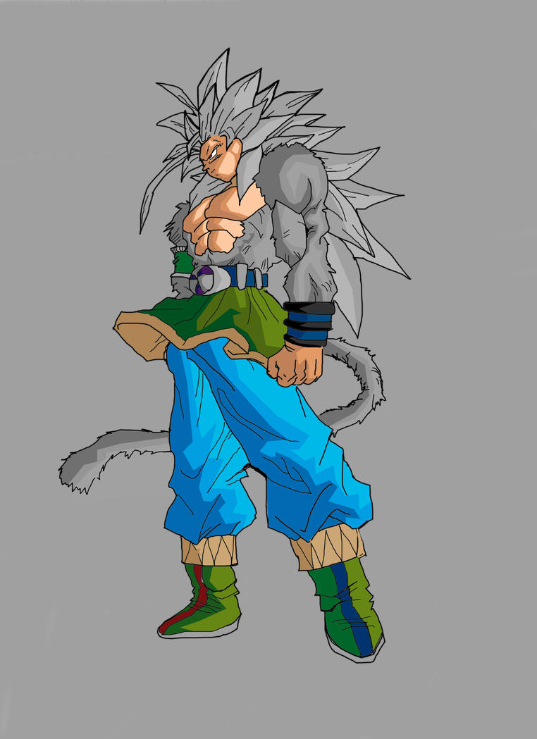 Goku super saiyan 5 by uomoscimmia on deviantart - Goku super sayan 5 ...