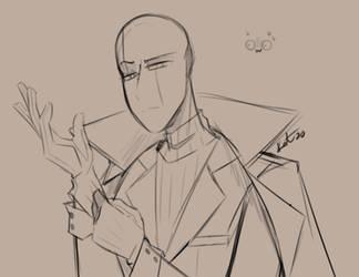 Sum Gaster - Sketch