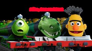 Mike, Rex and Bert by MrDankEngine