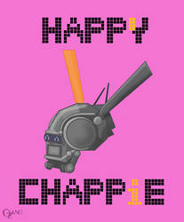 Happy Chappie by WildPencil