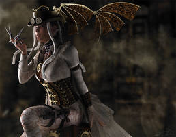 Queen - Steampunk - For Eve by LeAndraDawn