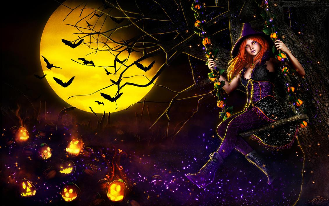 Happy Halloweeeeen by LeAndraDawn
