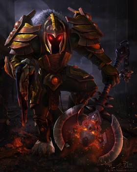 Commission - Worgen Warrior