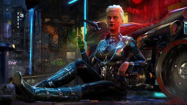 Cyberpunk 2077 Fanart - V