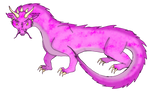 Purple Dragon hachling for riverhart by Airy-Styles