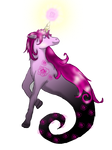 Mini Demon Unicorn for Miss-Cupcake1102 by Airy-Styles