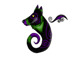 Mini Wolf Demon for Mary-07 by Airy-Styles