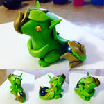 Mini Leaf Armour Dragon
