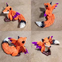 Fox Fursona commission for Frankie Fox